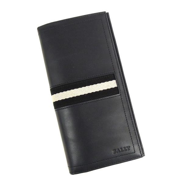 【並行輸入品】 バリー 財布 TALIRO 517 小銭入れ付き ネイビー BALLY
