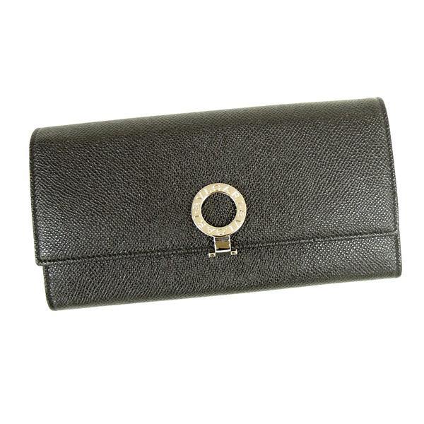 【並行輸入品】ブルガリ 財布 レディース 小銭入れ付き ブルガリブルガリ 30414 ブラック BVLGARI