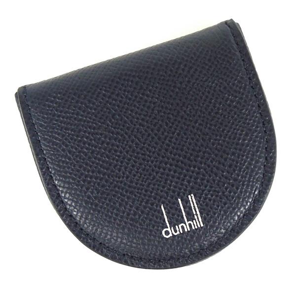 【並行輸入品】 ダンヒル 小銭入れ 馬蹄型 財布 メンズ カドガン F2010CANV ネイビー dunhill