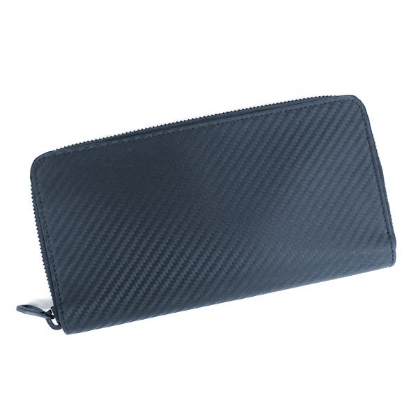 【並行輸入品】 ダンヒル 財布 メンズ シャーシ L2V518N ネイビー ラウンドファスナー dunhill