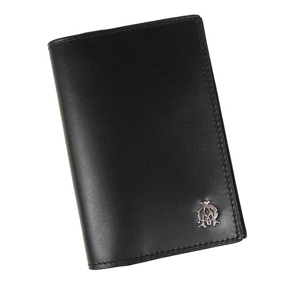 【並行輸入品】ダンヒル dunhill 名刺入れ ウェセックス L2R347A ブラック メンズ カードケース