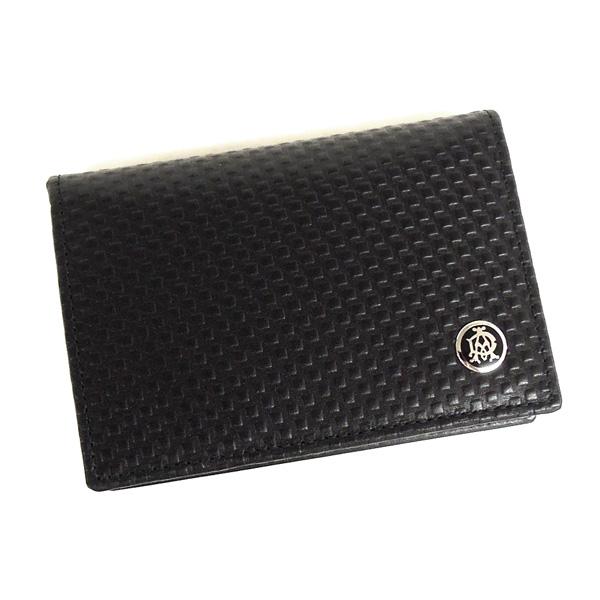 【並行輸入品】 ダンヒル 名刺入れ メンズ マイクロディーエイト L2V347A ブラック カードケース dunhill
