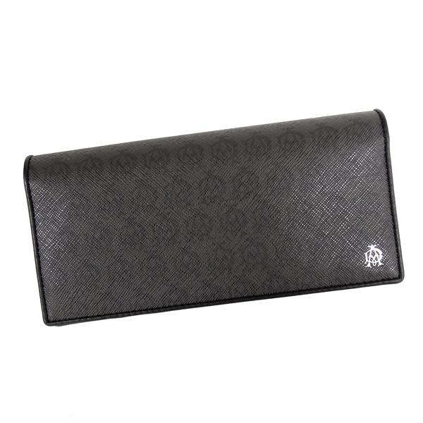 【並行輸入品】 ダンヒル 財布 メンズ ウィンザーグレー L2W710Z グレー+ブラック 小銭入れ付き dunhill