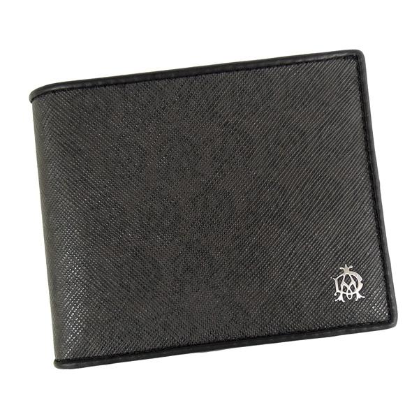 【並行輸入品】 ダンヒル 財布 ウィンザー グレー L2W732Z グレー+ブラック 小銭入れ付き 二つ折財布 dunhill