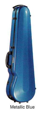 Eastmanイーストマン バイオリンケースグラスファイバー メタリックブルー【取寄せ商品】
