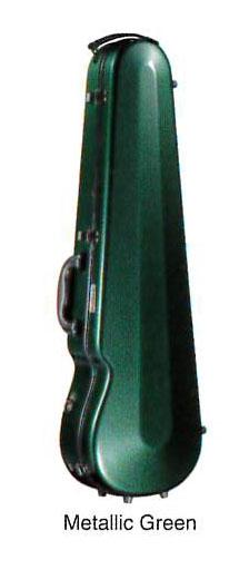 Eastmanイーストマン バイオリンケースグラスファイバー メタリックグリーン【取寄せ商品】