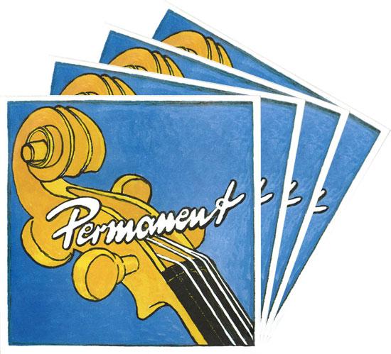Permanent パーマネント チェロ弦 SET【送料無料】