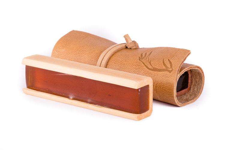 【Leatherwood BESPOKE ROSIN】レザーウッド ベスポーク松脂 チェロ用 <Supple/Crisp>