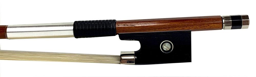 【Speranza】スペランツァ バイオリン弓 ヘルナンブコ材 丸弓 4/4<メッキ線>