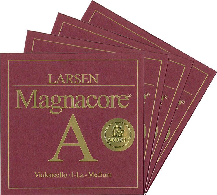 Larsen Magnacore ラーセンマグナコア アリオーソ チェロ弦 SET【取り寄せ商品(3~4日での発送)】