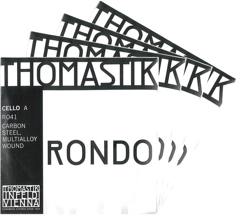 【4月1日より販売開始】RONDO ロンド チェロ弦SET(RO-400)
