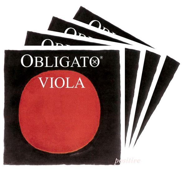 Obligatoオブリガート ビオラ弦 SET