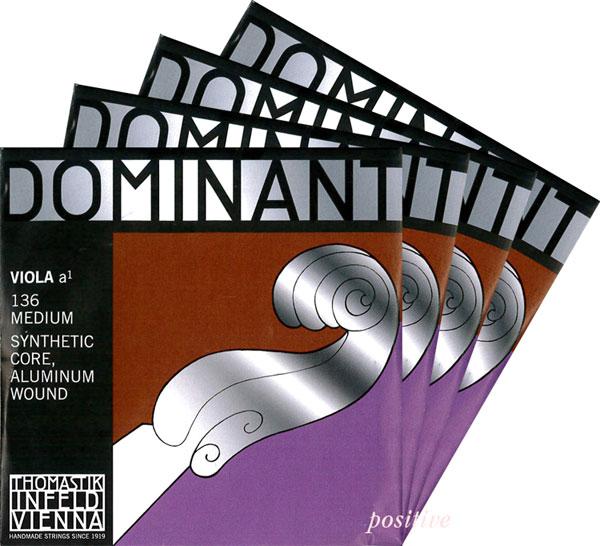 【あす楽対応・DM便不可】Dominantドミナント ビオラ弦 SET