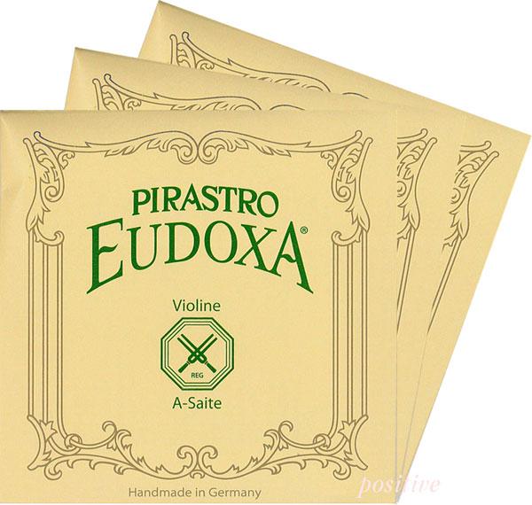 【Eudoxa】オイドクサバイオリン弦 2A、3D、4G セット