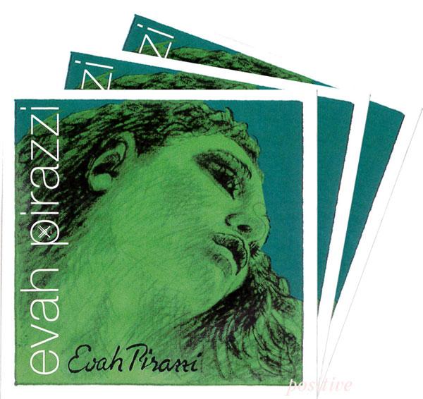 Evah 格安店 Pirazzi エヴァ ピラッツィバイオリン弦 2A 4G 3D セット 分数 送料無料お手入れ要らず
