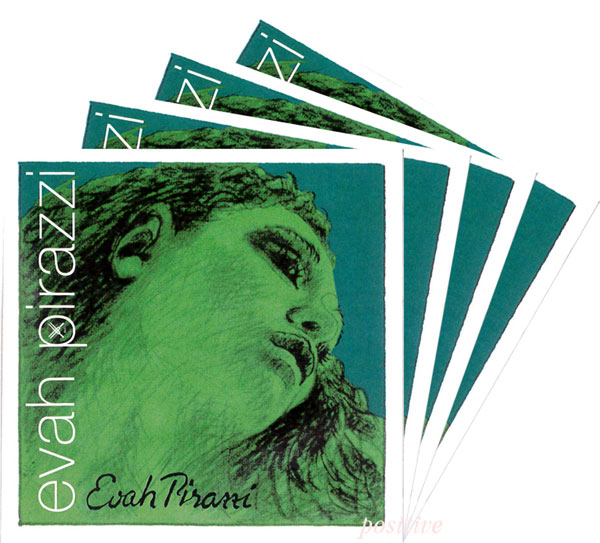 かわいい! 【Evah Pirazzi】エヴァ ピラッツィバイオリン弦 セット(1E=ゴールドスチール・3136/3133), オールコムスイーツ王国 7c167577