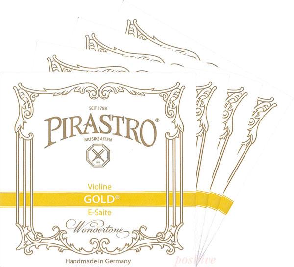 【Gold】ゴールド バイオリン弦 セット