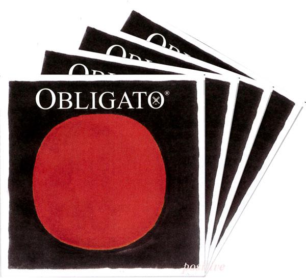 【Obligato】オブリガートバイオリン弦 セット(1E=ゴールドスチール・3138/3131)【メール便対応商品】