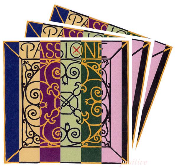 【Passione】パッシオーネ バイオリン弦 2A、3D、4G セット