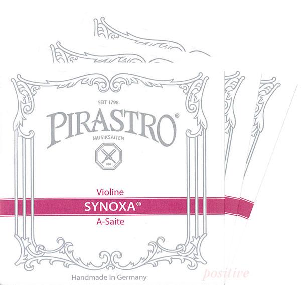 【Synoxa】シノクサバイオリン弦 2A、3D、4G セット 各サイズ