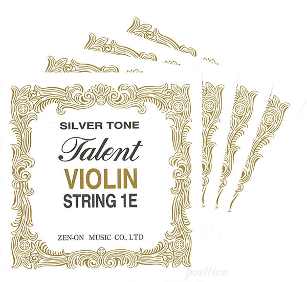 Talent 全音楽譜出版 タレントバイオリン弦 4用 お気に入り 通常便なら送料無料 4 セット