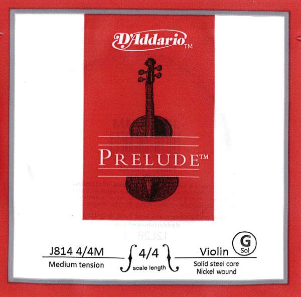 Prelude プレリュードバイオリン弦 新着 4G WEB限定 J814 4 16 4~1