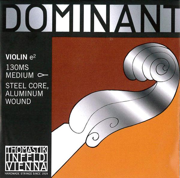 セール 特別セール品 特集 世界で最も愛されている弦 Dominant ドミナントバイオリン弦 1E アルミ巻 130 各サイズ