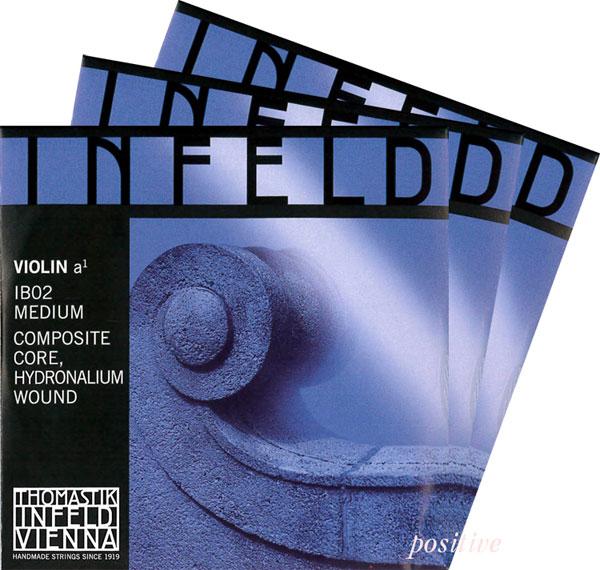 明るく力強い音が特徴 Infeld-Blue インフェルド青バイオリン弦 2A 安値 信頼 3D 4G セット