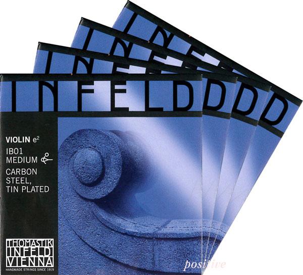 明るく力強い音が特徴 Infeld-Blue セット 爆売りセール開催中 インフェルド青バイオリン弦 ショッピング