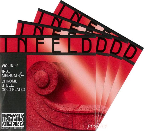 重厚な音色が特徴 店内限界値引き中&セルフラッピング無料 Infeld-Red ※ラッピング ※ セット インフェルド赤バイオリン弦