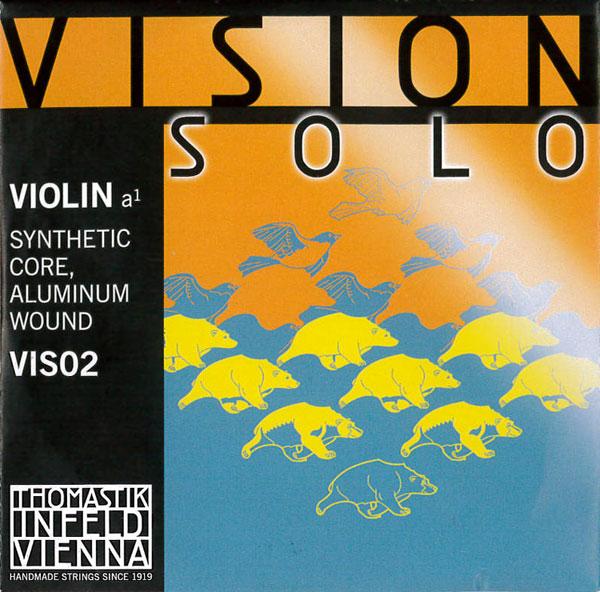 Vision Solo 上質 訳あり ヴィジョン 2A ソロバイオリン弦 VIS02
