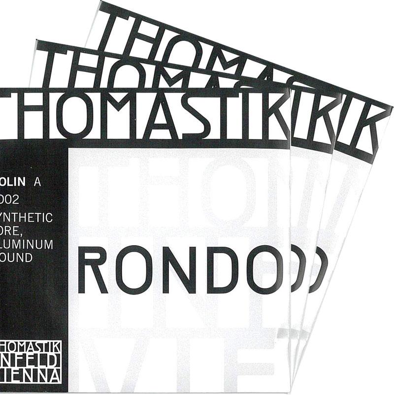 【4月1日より販売開始】RONDO ロンド バイオリン弦 2A・3D・4Gセット