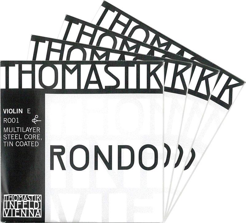 【4月1日より販売開始】RONDO ロンド バイオリン弦 SET