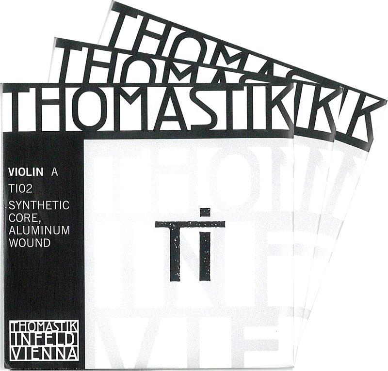 【4月1日より販売開始】TI ティーアイ バイオリン弦 2A・3D・4Gセット
