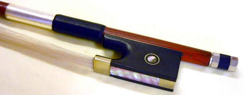 【ワゴンセール】バイオリン弓 高級ヘルナンブコ材 丸弓 4/4サイズ