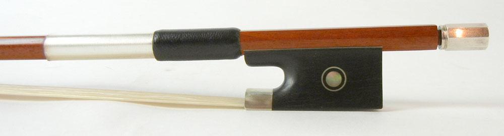【ワゴンセール】バイオリン弓 ヘルナン材 角弓 4/4サイズ