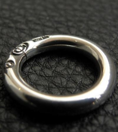 G Stamp On C-ring [N-136]gabor gaboratory ガボール ガボラトリー 正規代理店 silver シルバー ゴールド メンズ アクセサリー ジュエリー シルバー925 10k 18k