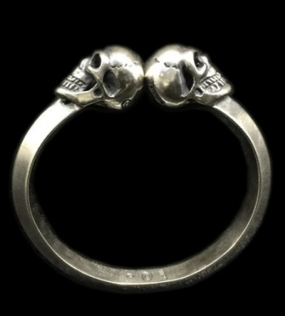 Miracle Skull Triangle Wire Bangle [BG-60] GABORATORY GABOR ガボラトリー ガボール silver 正規取扱店 シルバー メンズ アクセサリー シルバー925 ゴールド ジュエリー