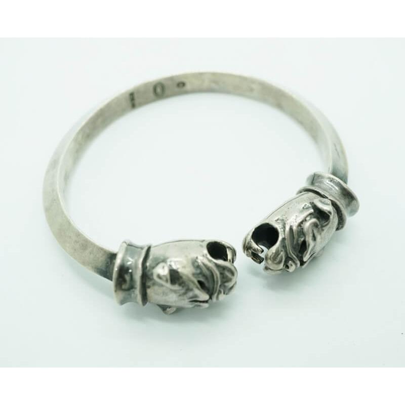 GABORATORY GABOR ガボール ガボラトリー Old Bulldog Triangle Wire Bangle [BG-17] silver 正規取扱店/シルバー メンズ アクセサリー バングル ブル 925 シルバー925