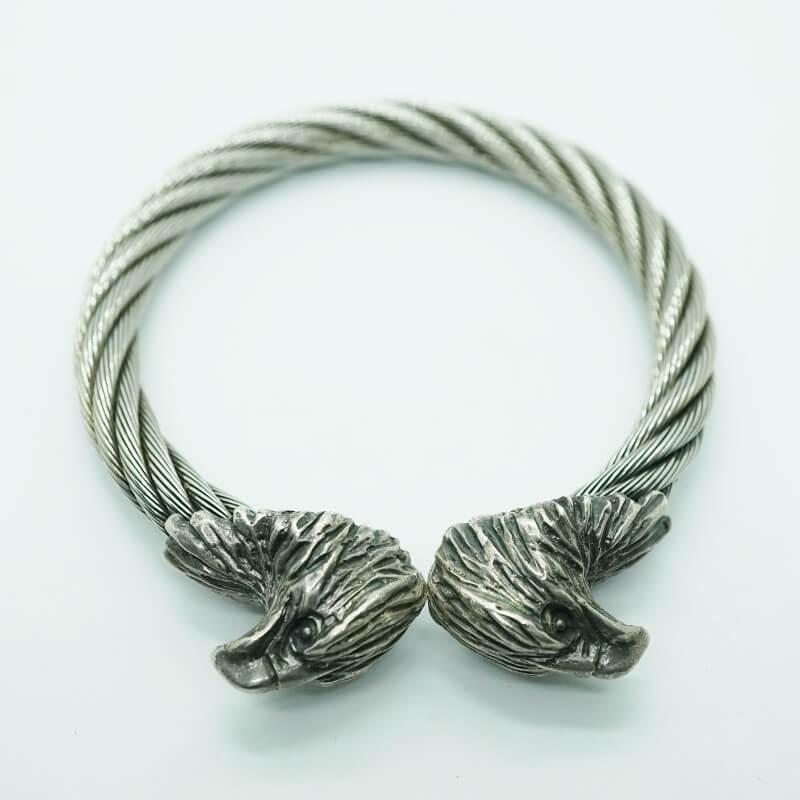 GABORATORY GABOR ガボール ガボラトリー Eagle Cable Wire Bangle [BG-02] silver 正規取扱店/シルバー メンズ アクセサリー バングル 925 シルバー925
