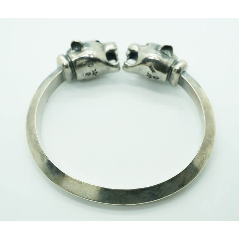 GABORATORY GABOR ガボール ガボラトリー Panther Triangle Wire Bangle [BG-20] silver 正規取扱店/シルバー メンズ アクセサリー バングル パンサー 925 シルバー925