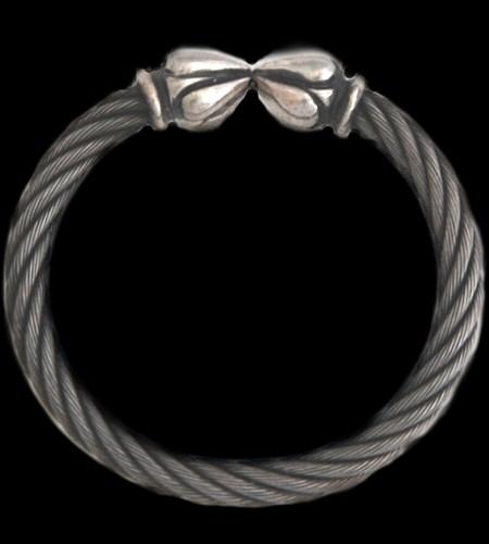 gaboratory gabor ガボール ガボラトリー Noodle Cable Wire Bangle [BG-30] silver 正規取扱店/シルバー メンズ アクセサリー バングル 925 シルバー925