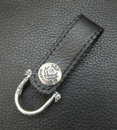Buffalo Skin Triple Belt Loop [BL-07] GABORATORY GABOR ガボール ガボラトリー  silver 正規取扱店 シルバー メンズ アクセサリー レザー 925 シルバー925