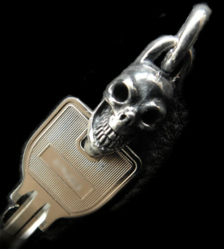 Single Skull Key Hook [KK-27]GABORATORY/GABOR/ガボラトリー/ガボール/silver 正規取扱店/シルバー メンズ アクセサリー キーキーパー スカル 925 シルバー925