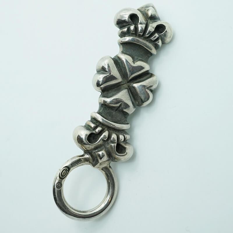 GABORATORY GABOR ガボール ガボラトリー 4 Heart Crown Key Keeper [KK-07] silver 正規取扱店/シルバー メンズ アクセサリー キーキーパー クラウン ハート 925 シルバー925