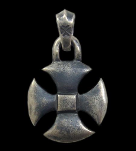 gaboratory gabor ガボール ガボラトリー Round Cross Pendant [P-110] silver 正規取扱店/シルバー メンズ アクセサリー ペンダント クロス 925 シルバー925