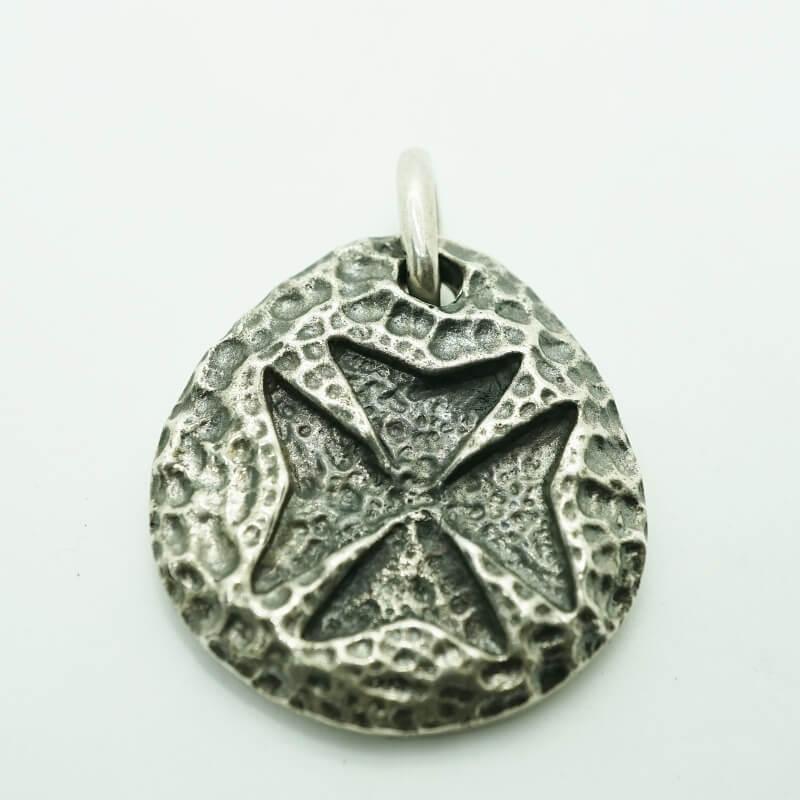 gaboratory gabor ガボール ガボラトリー Maltese Cross Blob Pendant [P-144] 正規取扱 メンズ アクセサリー ペンダント スカル シルバー 925