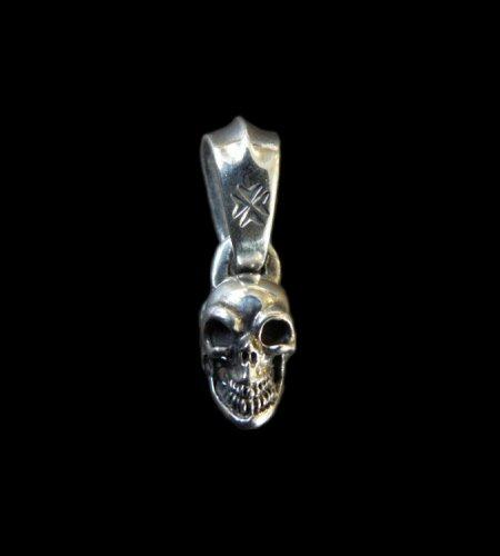 gaboratory gabor ガボール ガボラトリー Quarter Single Skull Pendant [P-52] silver 正規取扱店/シルバー メンズ アクセサリー クオーター スカル ペンダント 925 シルバー925