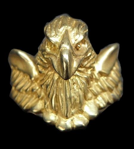 ◆10k Gold Gold Half Eagle With Wing Ring [R-68] gaboratory gabor ガボラトリー ガボール silver 正規取扱店/シルバー メンズ アクセサリー リング ゴールド 925 シルバー925