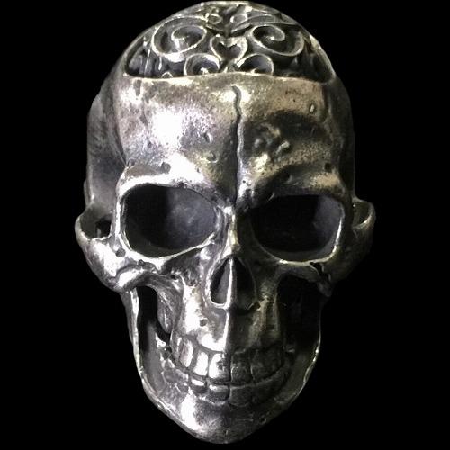 ◆Large Brains Skull Full Head Ring [R-126] gaboratory gabor/ガボラトリー/ガボール/silver 正規取扱店/シルバー メンズ アクセサリー リング スカル 925 シルバー925